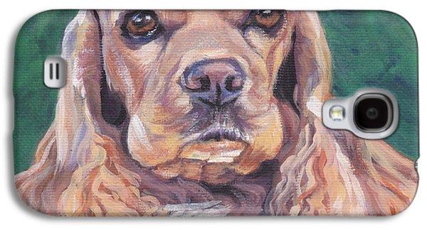 Cocker Spaniel Galaxy S4 Case by Lee Ann Shepard