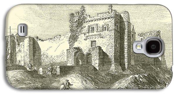 Cockermouth Castle Galaxy S4 Case by English School