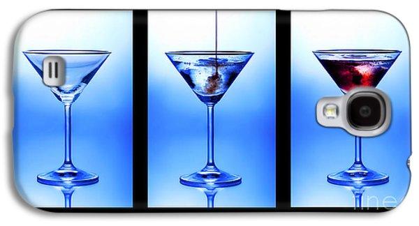Cocktail Triptych Galaxy S4 Case by Jane Rix