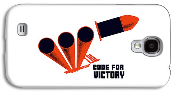 Code For Victory - Ww2 Galaxy S4 Case