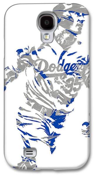 Cody Bellinger Los Angeles Dodgers Pixel Art 1 Galaxy S4 Case