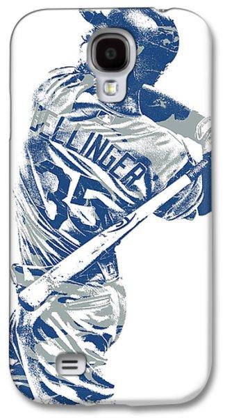 Cody Bellinger Los Angeles Dodgers Pixel Art 10 Galaxy S4 Case