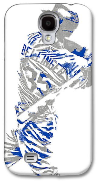 Cody Bellinger Los Angeles Dodgers Pixel Art 2 Galaxy S4 Case