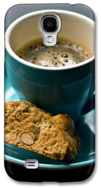 Coffee And Biscotti Galaxy S4 Case by Happy Home Artistry