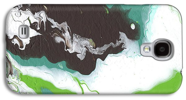 Coffee Bean 2- Abstract Art By Linda Woods Galaxy S4 Case