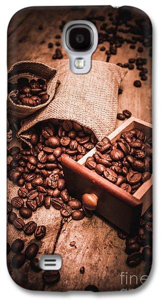 Coffee Bean Art Galaxy S4 Case