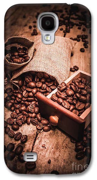 Coffee Bean Art Galaxy S4 Case by Jorgo Photography - Wall Art Gallery