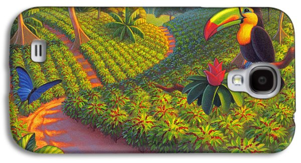 Coffee Plantation Galaxy S4 Case by Robin Moline