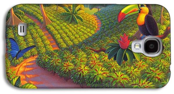 Coffee Plantation Galaxy S4 Case