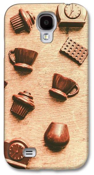 Coffee Shop Iconography  Galaxy S4 Case