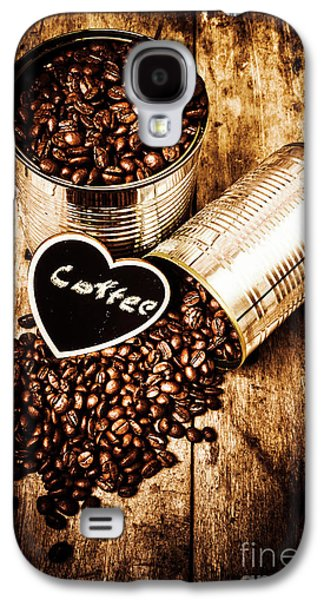 Coffee Shop Love Galaxy S4 Case