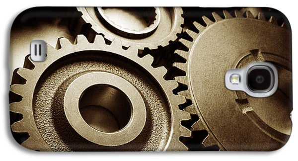 Cogs 1 Galaxy S4 Case by Les Cunliffe
