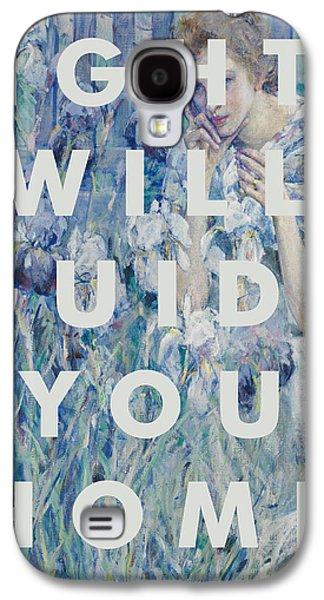 Coldplay Lyrics Print Galaxy S4 Case