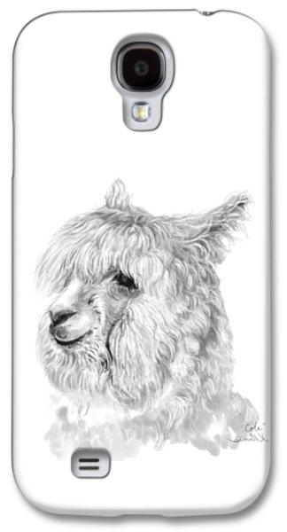 Llama Galaxy S4 Case - Cole by K Llamas
