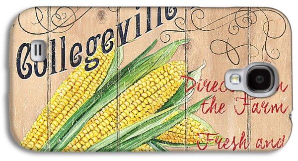 Collegeville Market Galaxy S4 Case by Debbie DeWitt