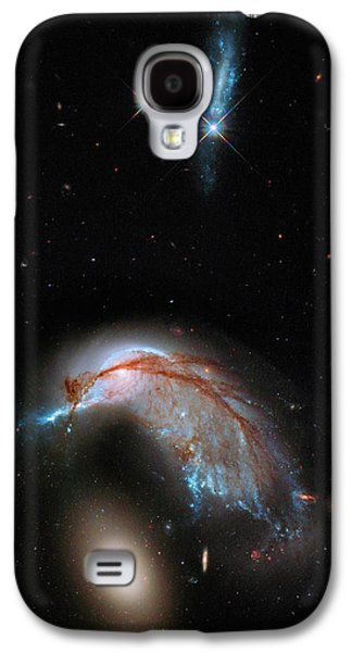 Colliding Galaxy Galaxy S4 Case