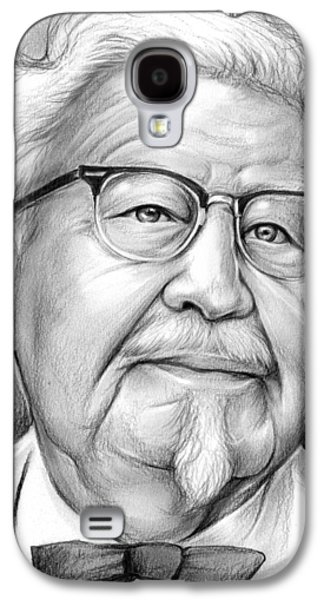 Colonel Sanders Galaxy S4 Case by Greg Joens