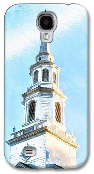 Colonial Church Concord Galaxy S4 Case by Edward Fielding