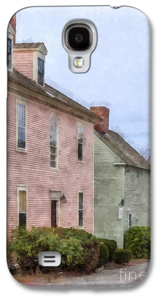Colonial Houses Of Portsmouth New Hampshire Galaxy S4 Case by Edward Fielding
