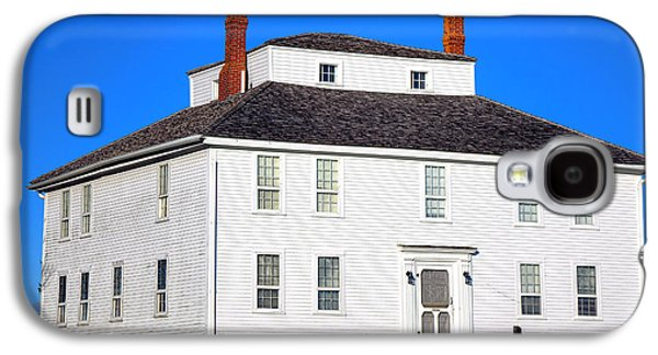 Colonial Pemaquid Fort House Galaxy S4 Case by Olivier Le Queinec