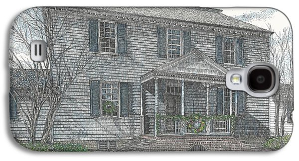 Colonial Williamsburg's Carter House Galaxy S4 Case by Stephany Elsworth