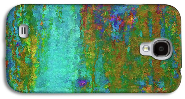 Color Abstraction Lxvii Galaxy S4 Case by David Gordon