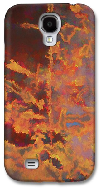 Color Abstraction Lxxi Galaxy S4 Case by David Gordon