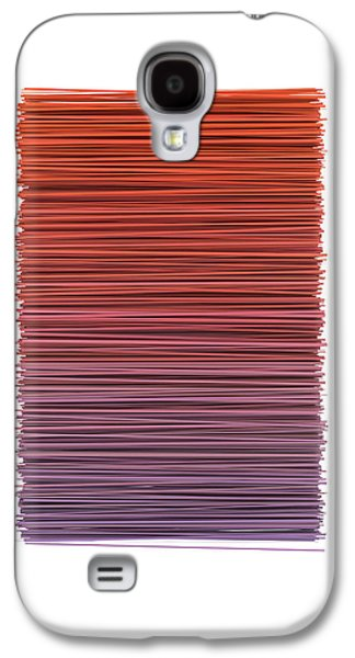 Color And Lines 3 Galaxy S4 Case by Scott Norris