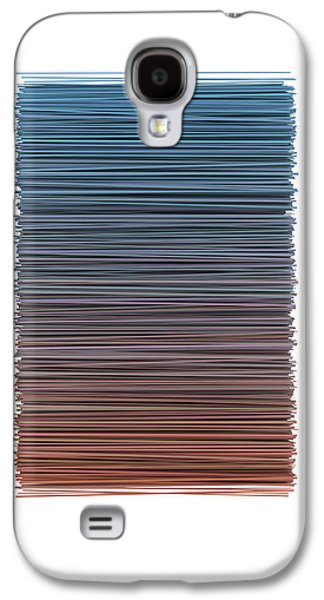Color And Lines 4 Galaxy S4 Case by Scott Norris