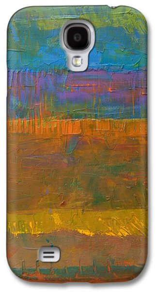 Galaxy S4 Case featuring the painting Color Collage One by Michelle Calkins