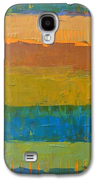 Galaxy S4 Case featuring the painting Color Collage Three by Michelle Calkins