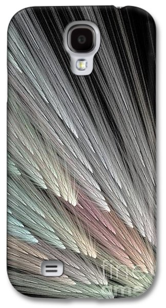 Color Fanning Galaxy S4 Case by Elizabeth McTaggart