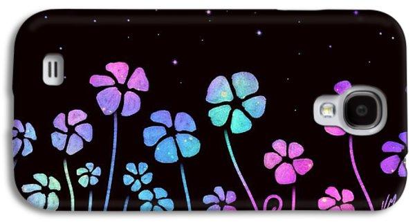 Color Game Series Blue Galaxy S4 Case by Veronica Minozzi
