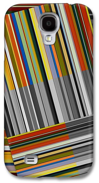 Galaxy S4 Case featuring the digital art Color In Black And White by Michelle Calkins
