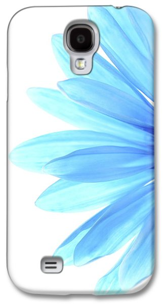 Daisy Galaxy S4 Case - Color Me Blue by Rebecca Cozart
