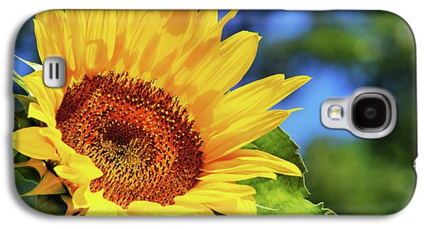 Color Me Happy Sunflower Galaxy S4 Case