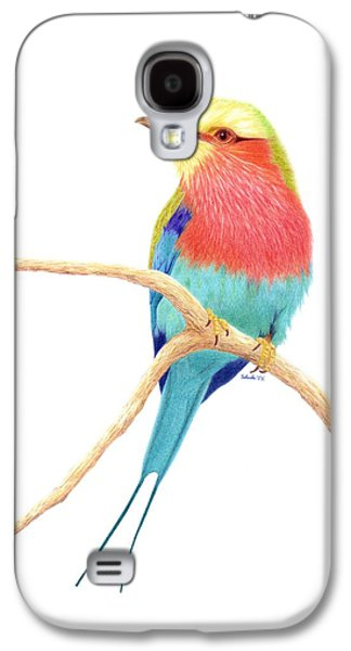Color On A Branch Galaxy S4 Case by Selinda Van Horn