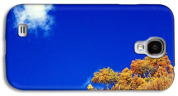 Colorado Blue Galaxy S4 Case by Karen Shackles