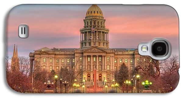 Galaxy S4 Case featuring the photograph Colorado Capital by Gary Lengyel