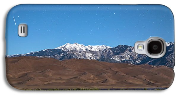 Colorado Great Sand Dunes With Falling Star Galaxy S4 Case by James BO Insogna