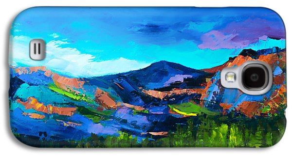 Colorado Hills Galaxy S4 Case by Elise Palmigiani