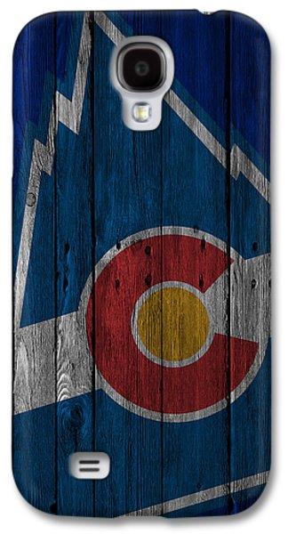 Colorado Rockies Wood Fence Galaxy S4 Case