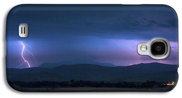 Galaxy S4 Case featuring the photograph Colorado Rocky Mountain Foothills Storm by James BO Insogna