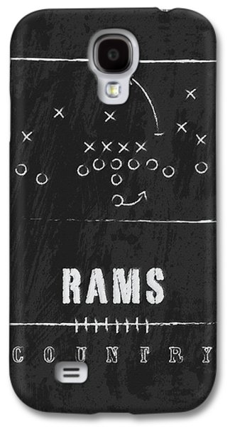 Colorado State Rams / Ncaa College Football Art / Fort Collins Galaxy S4 Case by Damon Gray