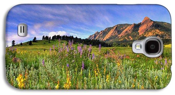 Colorado Wildflowers Galaxy S4 Case by Scott Mahon