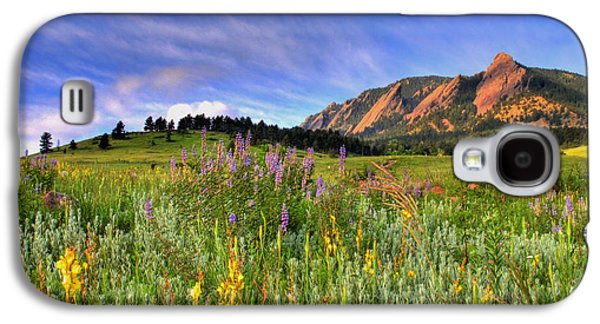 Colorado Wildflowers Galaxy S4 Case by Scott Mahon