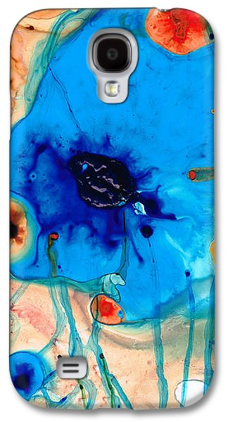 Colorful Abstract Art - The Reef - Sharon Cummings Galaxy S4 Case