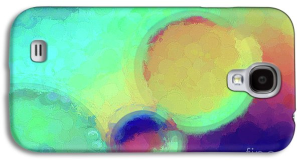 Colorful Abstract Painting Galaxy S4 Case