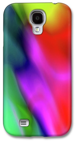 Colorful Abstract Phone Case 2 Galaxy S4 Case by Edward Fielding