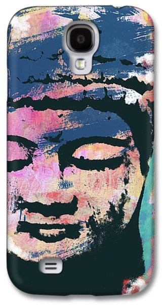 Colorful Buddha 1- Art By Linda Woods Galaxy S4 Case